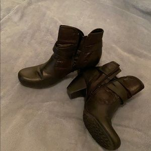 Gently used boots